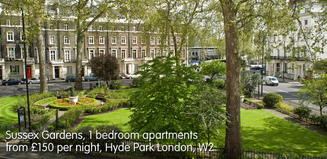 Serviced Apartments London Picture Box