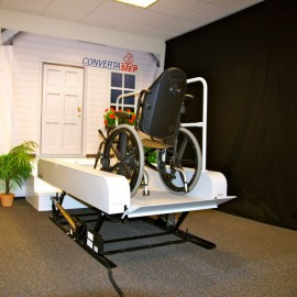 Curved Stairlift for Individual Solutions jamesonmedical