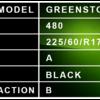 225 60 R17 - Greenstone Description