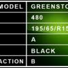 195 65 R151 - Greenstone Description