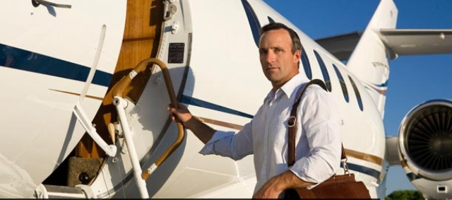 Private jet charter travel services Picture Box