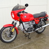 SOLD.....6162843 '78 R100S CUSTOM, Red. Complete rebuild!