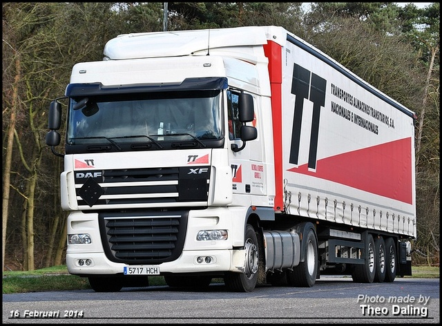 Multimodal de Transportes Agrupados sl - Naron (A  Daf 2014