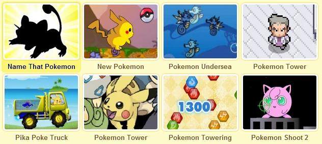 pokemon games Picture Box