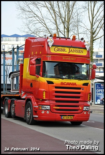Jansen, Gebr - Staphorst  BT-DN-56 -2 Scania 2014