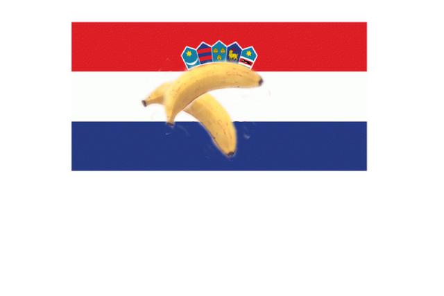 HRV zastava w banana jpg HRV