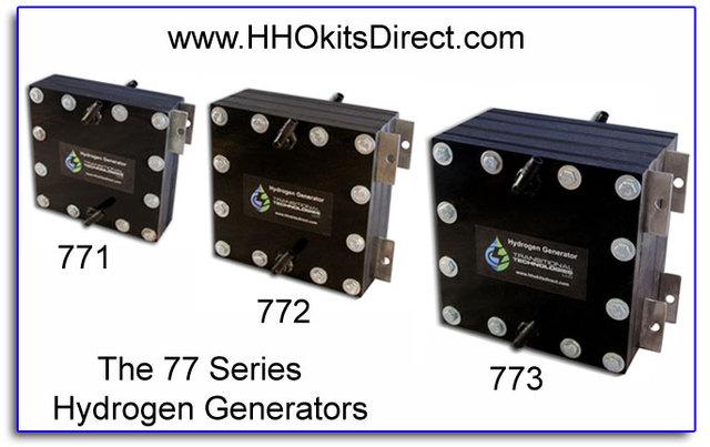 The 77 Series Hydrogen Generators The 77 Series Hydrogen Generators