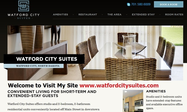 Watford City Hotels Picture Box