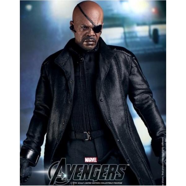 the-avengers-nick-fury-jacket Avengers nick fury leather coat