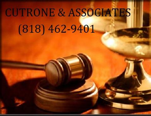 CUTRONE & ASSOCIATES  |  (818) 462-9401 CUTRONE & ASSOCIATES  |  (818) 462-9401