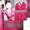 pink - wedding gown