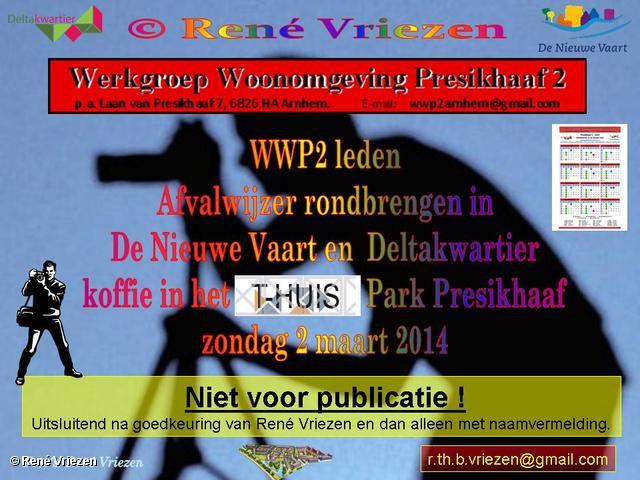 R.Th.B.Vriezen 2014 03 02 0000 WWP2 Afvalwijzer 2014 rondbrengen en koffie T-Huis zondag 2 maart 2014