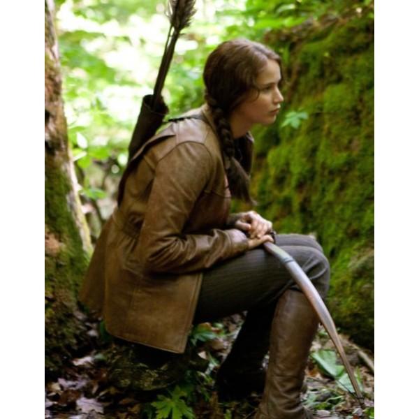 Huger Games Katniss Everdeen Leather Jacket Huger Games Katniss Everdeen Leather Jacket