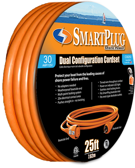 """<p><a href=""""http://www.smartplugonly <p><a href=""""http://www.smartplugonly.com""""><b>Smart Plug 50 Shore Cord 30 Amp</b></a><br>"""