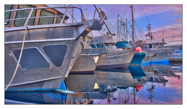 Comox Docks HDR 01 Comox Valley