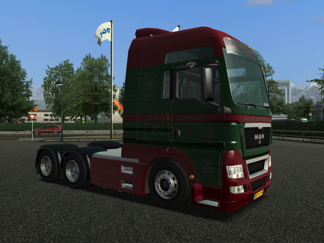 gts Man TGX 6x4 MATLOCK Transport verv daf C GTS TRUCK'S