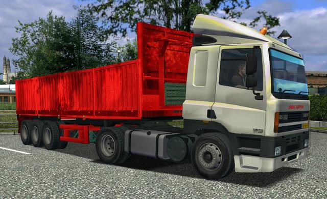 ukts Daf cf 85 + trailer UKTS