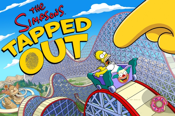 simpsons tapped out unlimited donuts Picture Box