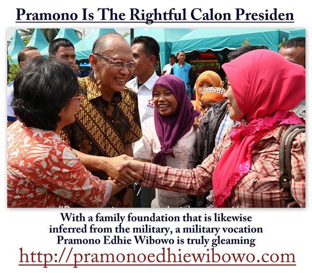 Pramono Wibowo is a suitable calon presiden Picture Box