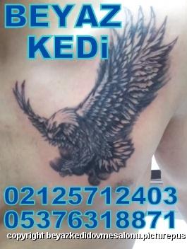 kartal dövmesi Dövme Salonu Bakırköy Profesyonel Tattoo Piercing