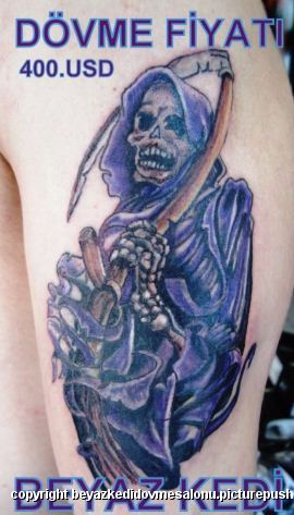 azrail dövmesi Dövme Salonu Bakırköy Profesyonel Tattoo Piercing