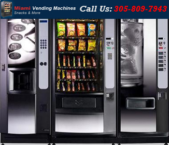 Miami Corporate Vending Machine Miami Corporate Vending Machine