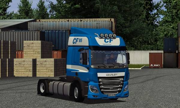 gts DAF CF 95 evro6 GTS TRUCK'S