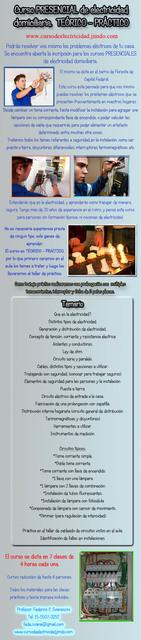 curso electricidad hogareña mod abril 2014 Fede abril 2014