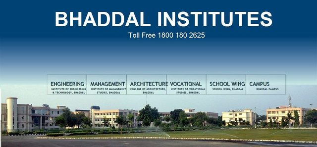 best engineering college in punjab bhaddal Bhaddal Institutes