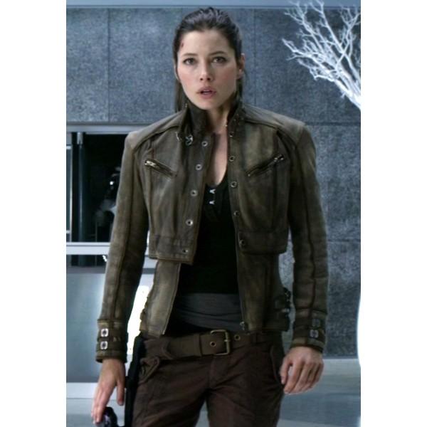 Total Recall Jessica Biel Jacket Total Recall Jessica Biel Jacket