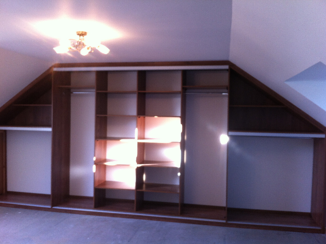 Slanted Wardrobes Picture Box