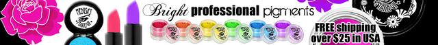 medusa logo mineral eyeshadow- we take care of your eyes