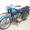 SOLD.....652109 1955 BMW R69, Blue. Complete, good compression