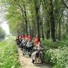Foto Piet Hilgeman - rolstoelduwen 24 april 2014