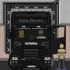 A descarregar na Dinamarca - camioes