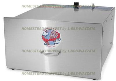 homesteadharvest.com Stainless Steel Food Dehydrator