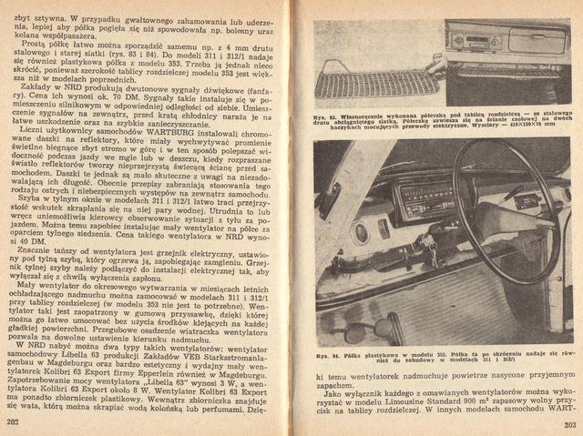 str 202-203 Jeżdżę samochodem Wartburg