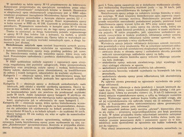 str 184-185 Jeżdżę samochodem Wartburg