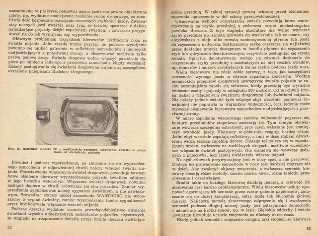 str 62-63 Jeżdżę samochodem Wartburg