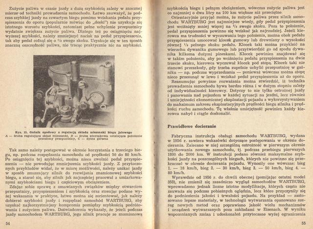 str 54-55 Jeżdżę samochodem Wartburg