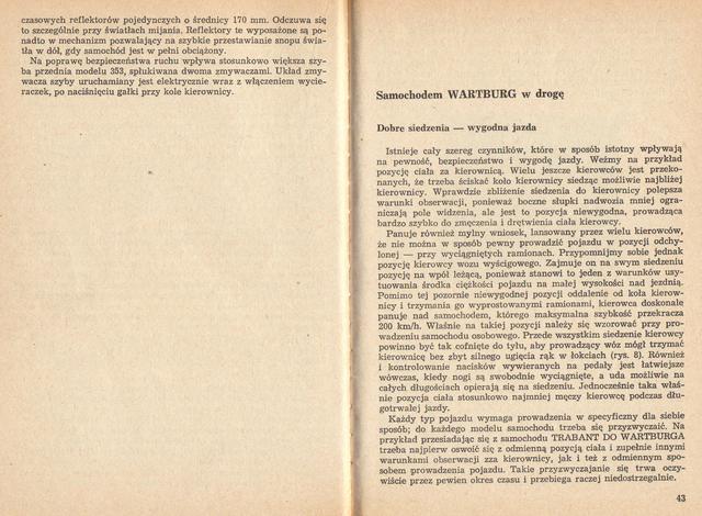 str 42-43 Jeżdżę samochodem Wartburg