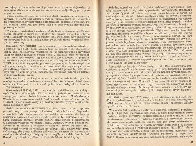 str 40-41 Jeżdżę samochodem Wartburg