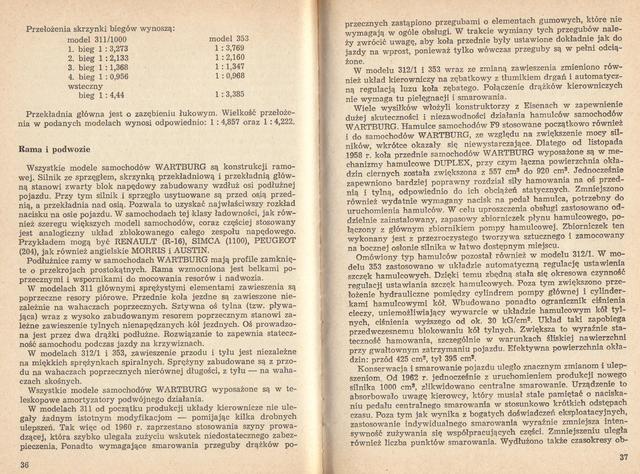 str 36-37 Jeżdżę samochodem Wartburg