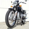 SOLD.....4910001 1974 BMW R75/6 Black. RESTORATION