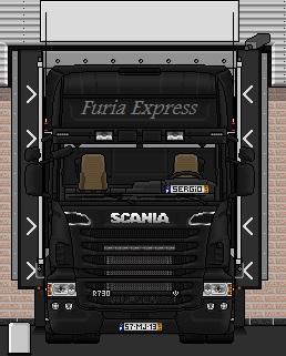 A descarregar na Dinamarca(2) camioes