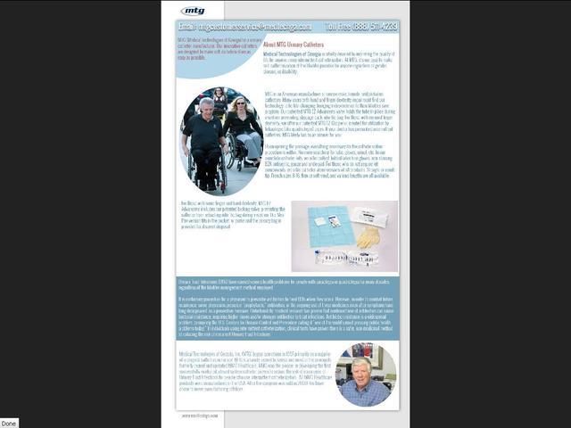 MTG Urinary Catheters Manufacturer MTG Urinary Catheters Manufacturer