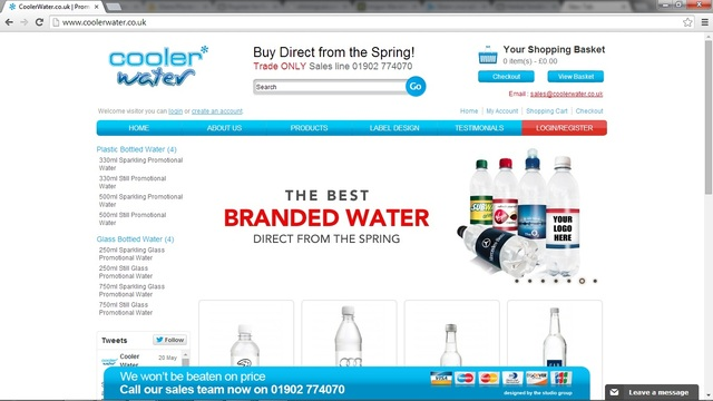 Promotional Bottled Water Promotional Branded Water