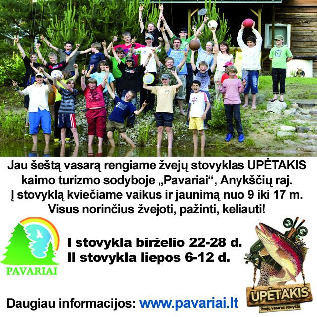 Zveju stovykla-Upetakis-2014 Upetakis
