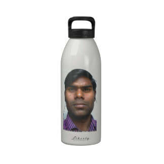 your photo on a special print product water bottle moharpal singh