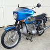 "SOLD.....2991926 '73 BMW R75/5 SWB, Blue. Running and Rideable ""Project Bike""."